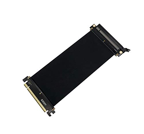 EZDIY-FAB All New PCI Express 16x Flexibles Kabel Karten Verlängerung Port Adapter High Speed Riser Card-20cm 180 Degree