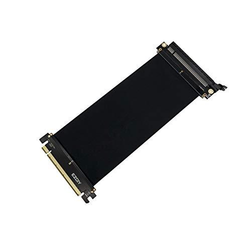 EZDIY-FAB All New PCI Express 16x Flexibles Kabel Karten Verlängerung Port Adapter High Speed Riser Card-20cm 180 Degree -