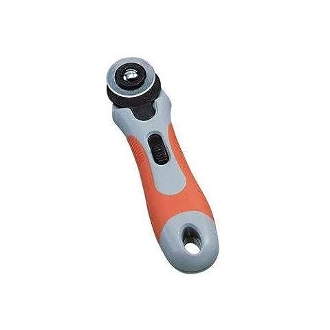 Rollschneider mit flexiblem Schutzmechanismus 28mm Klinge