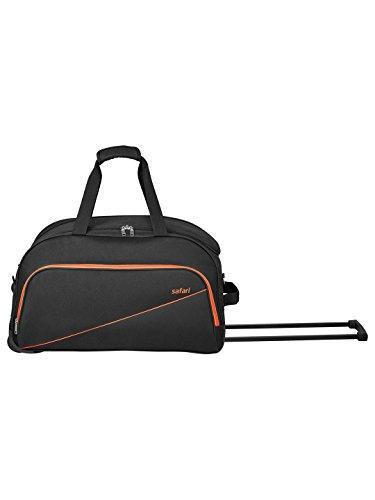 Safari Polyester 53 cms Black Travel Duffle (PEP55RLBLK)