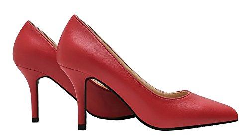 NIUERTE A Collo Basso Donna Red-8cm