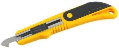 KABEER ART Acrylic Plastic Fiber Sheets Cutter Hook Knife Blade (Random Color) with 2 Extra Blades Inside