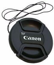 SHOPEE BRANDED 58mm replacement front lens cap for canon 5d/650d/ 1100d/ 600d/700d/1200d/1300d with 18-55mm & 55-250mm lens