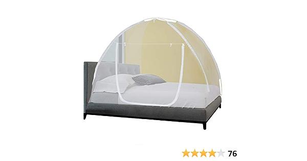 HB.YE Moustiquaire pour lit de b/éb/é moustiquaire portable pliable convient pour la pr/évention des gu/êpes et moustiques ind/échirable et lavable
