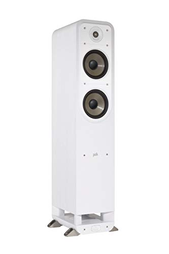 Polk Audio S55E Signature Polk Audio Signature S55 E Standlautsprecher, weiß Weiß