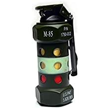 HOOSS SH-825 Stun Grenade M84 Flint Torch Gas Lighter (Army Green) L005M