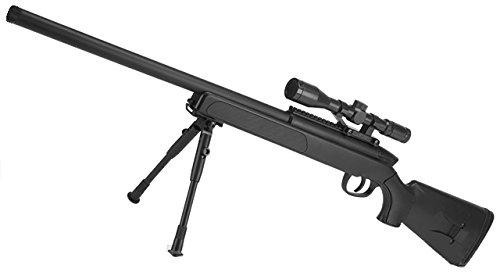 Airsoft Softair Ausr/üstung 27rd Mag Magazin f/ür WELL MB06 APS SR2 Bolt Action Scharfsch/ützengewehr