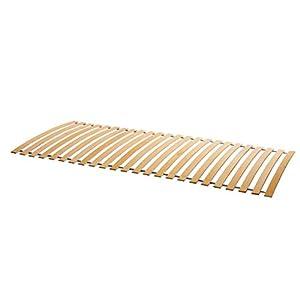 Naturamio Massivholz-Rollrost XXL – Hochwertiger Rolllattenrost aus 23 massiven Leisten aus Hartholz – 250 KG Flächenlast – unbehandelt und FSC zertifiziert – Lattenrollrost in Top-Qualität zum günstigen Preis