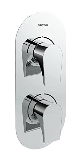 Bristan HOU SHCDIV C - Válvula de ducha empotrable (doble control, con...