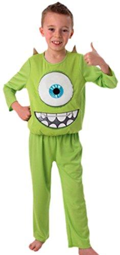 erdbeerloft - Jungen Monsters Ungeheuer Karneval Faschingskostüm, 122, Grün (Coole Jungs Kostüme)
