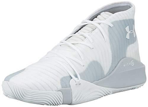 Under Armour Spawn Mid, Herren Basketballschuhe, Weiß (White 102), 47 EU (11.5 UK)