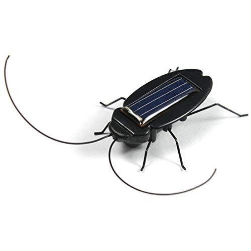 JIUZHOU Spielzeug Shop Solarenergie schwarz Kakerlaken-Käfer Spielzeug für Kinder Studenten