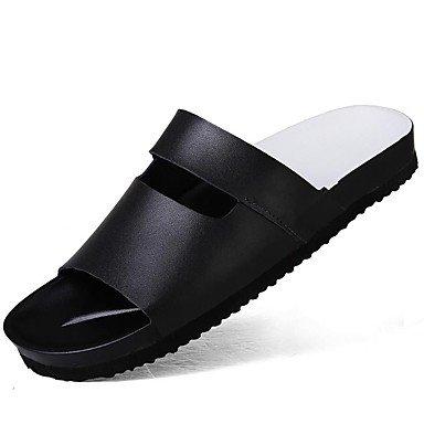 Slippers & amp da uomo;Primavera Estate Autunno in pelle Nappa Comfort Outdoor Ufficio & amp;carriera Dre sandali US9.5 / EU42 / UK8.5 / CN43