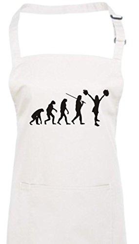 Krokodil Kochschürze Evolution Cheerleader Cheerleading Kostüm Fun Sport Tanz, Farbe (Choreographie Kostüme Tanz)
