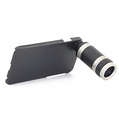 Mobilegear 8x Optical Zoom Telescope Mobile Camera Lens For Apple iPhone 6 Plus with Back Cover