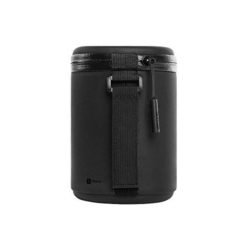 Incase Lens Case (L) black - Leder Lens Case