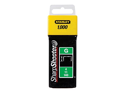 STANLEY 1-TRA705T - Grapa tipo g 4/11/140 8mm - 1000