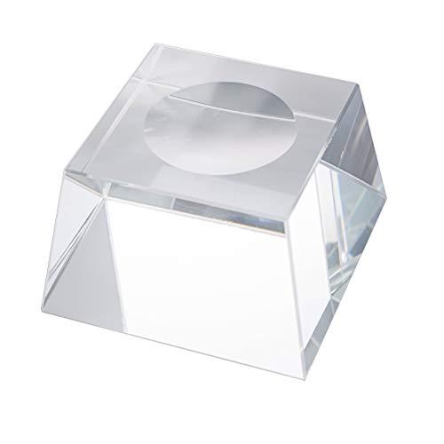 BESPORTBLE Kristallkugel-Standplatz-freier pädagogischer Kugel-Modell-Halter-Glaskugel-Unterseiten-Standplatz mit der Wölbung konkav für Anzeige (Anzeigen Baseball)