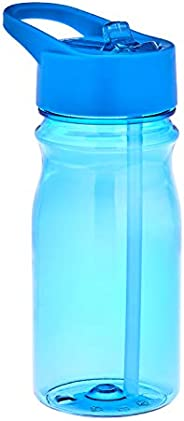 Amazon Brand - Solimo Water Bottle, 500 ml, Blue