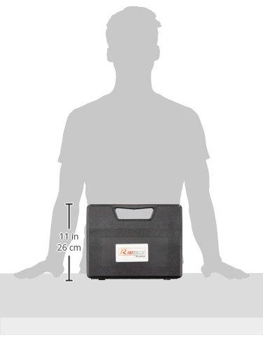 Kit ribimex en estuche rígido, con pistola de soldadura y accesorios de