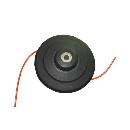 Tête de débroussailleuse Trueshopping avec bobine de fil nylon de 5 mètres