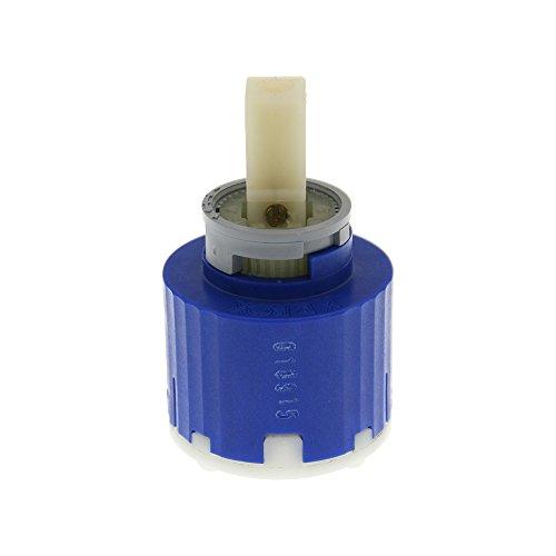 Sanifri 470010815 Kerox Kartusche 40mm, ohne Kartuschenboden, klick-Klack