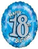 Helium-Ballon-Happy 18. Geburtstag-18