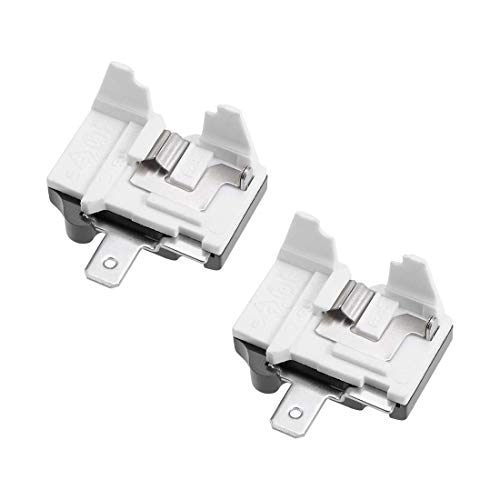 ZCHXD 2 Pcs Refrigerator Thermal Overload Protector