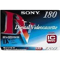 Sony - Digital Video-Kassette, DV Standard, 180 Minuten