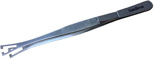 Schlitz Pennington-Pinzette Pinzette-Klemmen Body Piercing Tools Richtlinie 19,99