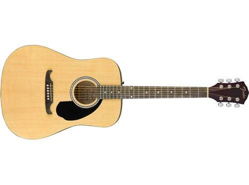 Fender FA-125 Dreadnought Acoustic Guitar (Natural)