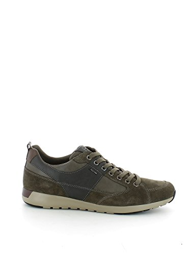 Geox U54F8D022ME Sneakers Uomo Scamosciato Taupe Taupe 45