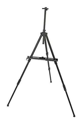 Alvin and Company Aluminum Tripod Style Field Easel with Carry Case (Black)