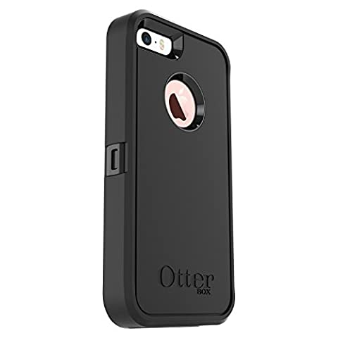 Otterbox Defender Series Protection Case for Apple iPhone SE (iPhone 5/5S) - Black