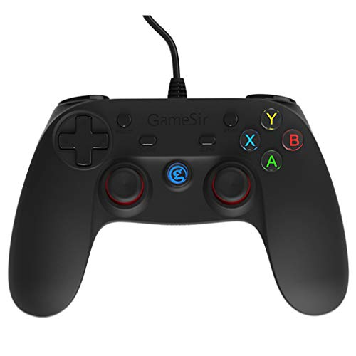 Happy event Gamesir G3w Wired Game Controller per PC Android PS3 Dampf Dual Shock Game Gamepad TV Box Portatile Gaming Joystick