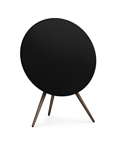 B&O PLAY by Bang & Olufsen BeoPlay A9 2nd Generation Music System Multiroom Wireless Home Speaker - Black with Walnut Legs - Best Price