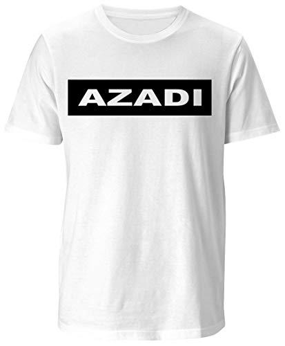 Azadi T-Shirt Kurdistan Tshirt Shirt (S) -