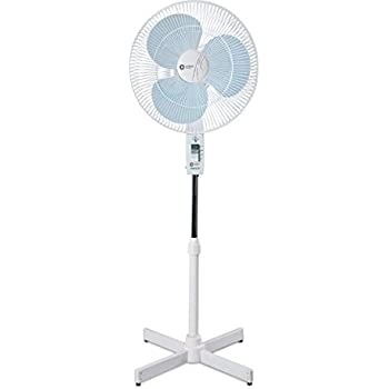 Orient Electric 400mm Pedestal Fan Stand (White/Blue)