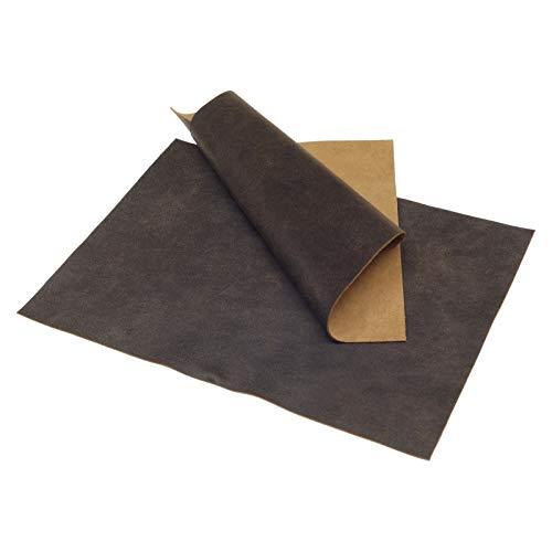 Klassen Leder AIX Rindsleder 1,2 mm Dick Antik Design Braun Nr. 32 (148 x 210 mm, 1 x A5) Leder Haut