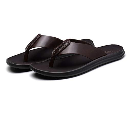 Liucuifang Pantofole Scarpe da Uomo Estate Antiscivolo Scarpe da Spiaggia Tendenze Sandali da Donna Flippers Sandali Morbide Bottom Flip Flops