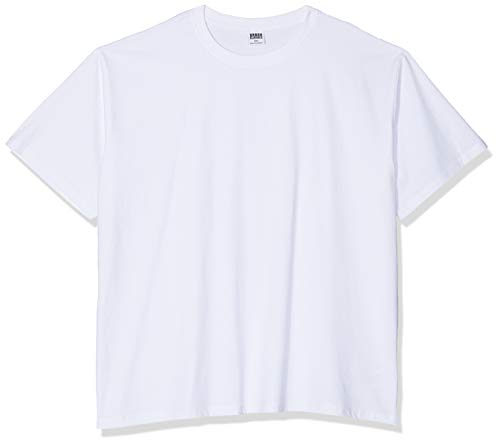 Urban Classics Herren Heavy Oversized Tee T-Shirt, Weiß (White 220), Small (Out T-shirt Letzte)