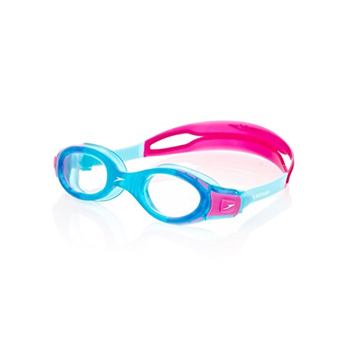 b50cc9a6f6f4c Mainline Speedo Unisex - Kinder Schwimmbrille Futura Biofuse, turquoise/pink,  one size,