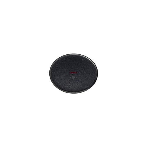 Niessen tacto - Tecla pulsador con visor simbolo luz tacto antracita