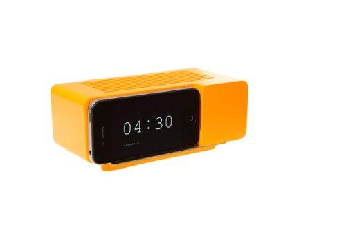 Alarm Dock (Areaware Alarm Dock Docking Station iPhone 4 / 4S orange)