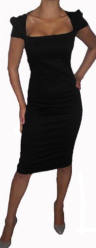 Fashion Victim, Damen Galaxy Pencil Kleid, Galaxy Dress, Pencil Dress, Damenkleid Schwarz