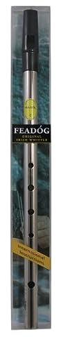 Feadog FW21A Pack de Whistle en nickel en Do Argenté