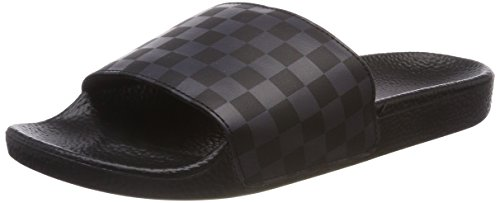 Vans slide-on, sandali a punta aperta uomo, nero (checkerboard), 39 eu