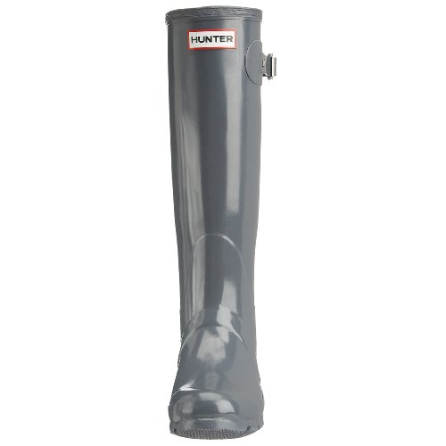 Hunter Gummistiefel Tall Gloss Grau (Graphite)
