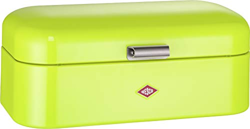 Wesco 235201-20 Brotkasten Grandy, 42 x 23 x 17 cm, limegreen