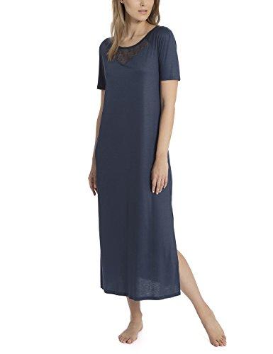 Calida Damen Azalea Nachthemd, Blau (Space Blue 478), X-Small